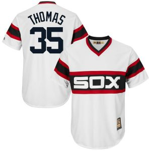 Frank Thomas Chicago White Sox Majestic Cool Base Cooperstown Collection Player Jersey