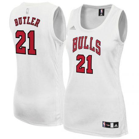 Jimmy Butler Chicago Bulls adidas Women's Fashion Replica Jersey