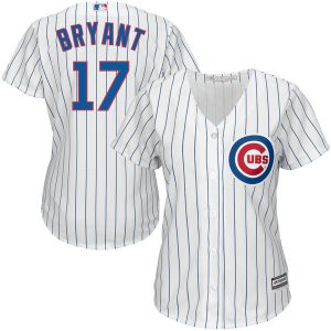 Kris Bryant Chicago Cubs Majestic Women's Cool Base Player Jersey