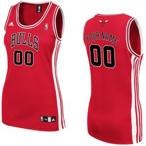 adidas Chicago Bulls Women's Custom Replica Road Jersey