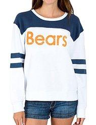Junk Food NFL Chicago Bears Football Juniors Pull Over Fleece Sweatshirt