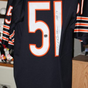 Dick Butkus Chicago Bears Autographed Signed Jersey COA