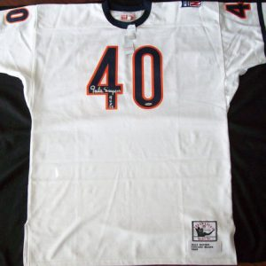 Vintage Authentic Autographed 1969 Gale Sayers Jersey