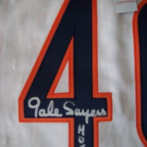 Vintage Authentic Autographed 1969 Gale Sayers Jersey