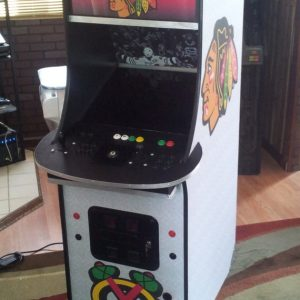 Chicago Blackhawks Stand Up Multi-Cade Arcade Game Machine