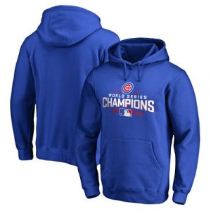 Chicago Cubs 2016 World Series Champions Walk Pullover Hoodie – Royal
