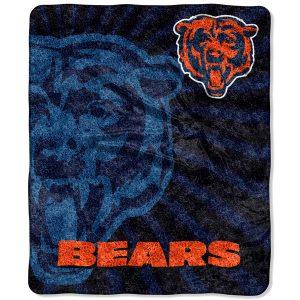 Chicago Bears 50″ x 60″ Strobe Sherpa Blanket