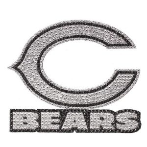 Chicago Bears Bling Emblem Car Decal