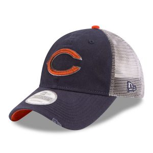 Chicago Bears New Era Team Rustic 9TWENTY Adjustable Hat