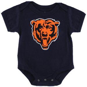 Chicago Bears Newborn Team Logo Bodysuit