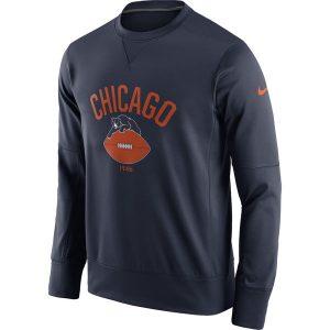Chicago Bears Nike Circuit Alternate Sideline Performance Sweatshirt