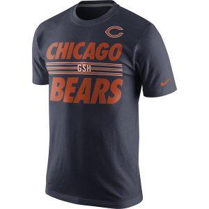 Chicago Bears Nike Team Stripe T-Shirt