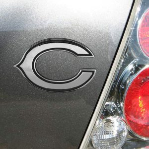 Chicago Bears Premium Metal Auto Emblem