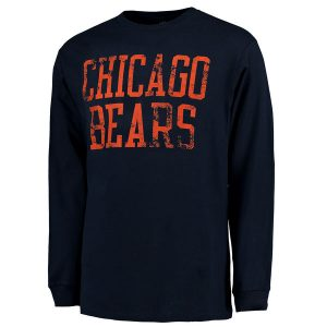 Chicago Bears Pro Line Straight Out Long Sleeve T-Shirt