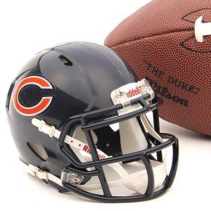 Chicago Bears Riddell Mini Speed Helmet