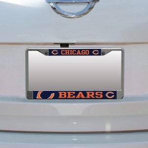 Chicago Bears Small Over Large Mega License Plate Frame