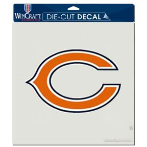 "Chicago Bears WinCraft 8"" x 8"" Color Car Decal"