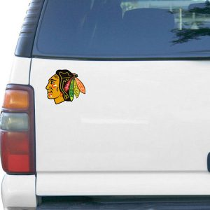 Chicago Blackhawks 6″ Team Logo Car Magnet