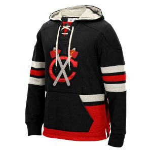 Chicago Blackhawks CCM Alternate Logo Pullover Hoodie