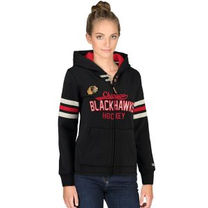 Chicago Blackhawks CCM Women's Full Zip Hoodie