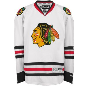 Chicago Blackhawks Reebok Premier Away Jersey