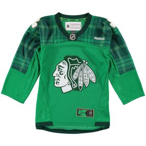 Chicago Blackhawks Reebok Youth St. Paddy's Day Team Jersey
