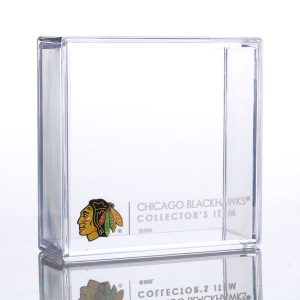Chicago Blackhawks Sher-Wood Puck Holder Cube