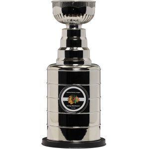 Chicago Blackhawks Stanley Cup Replica Coin Bank