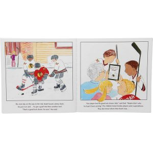 Chicago Blackhawks The Home Team Children's Book