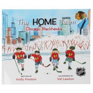 Chicago Blackhawks The Home Team Children's Book
