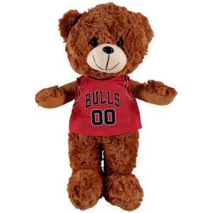 Chicago Bulls 14″ Fuzzy Uniform Bear