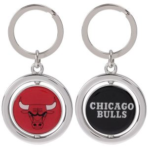 Chicago Bulls Basketball Spinner Keychain