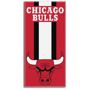 Chicago Bulls Northwest Company Zone Read Beach Towel