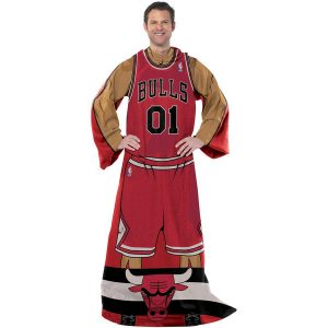 Chicago Bulls Unisex Player Comfy Throw