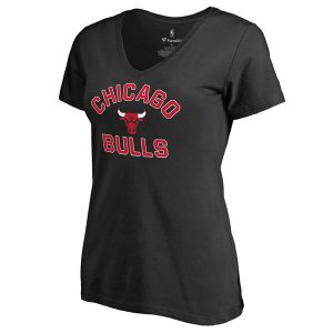 Chicago Bulls Women's Overtime Slim Fit T-Shirt