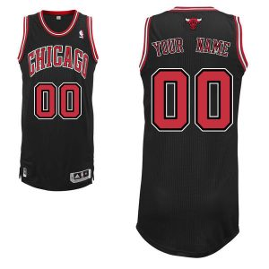 Chicago Bulls adidas Custom Authentic Alternate Jersey