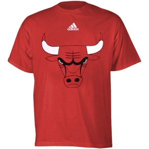 Chicago Bulls adidas Youth Primary Logo T-Shirt