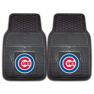 Chicago Cubs 27″ x 18″ 2-Pack Vinyl Car Mat Set