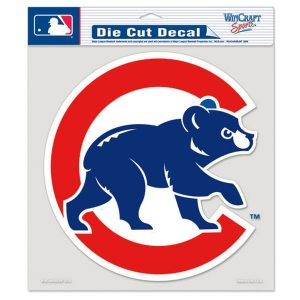 "Chicago Cubs 8"" x 8"" Color Die-Cut Decal"
