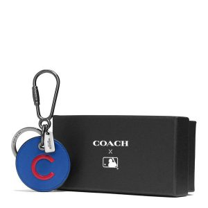 Chicago Cubs Coach Round Logo Key Fob