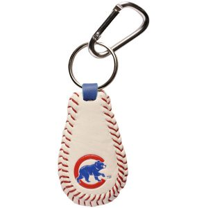 Chicago Cubs Cubbie Leather Keychain