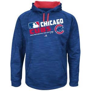 Chicago Cubs Majestic Authentic Collection Team Choice Streak Hoodie