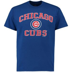 Chicago Cubs Majestic Heart and Soul T-Shirt
