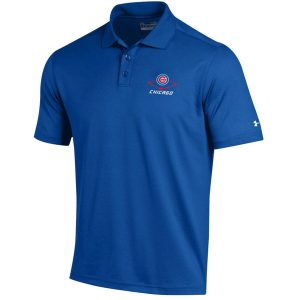 Chicago Cubs Under Armour MLB Performance Polo
