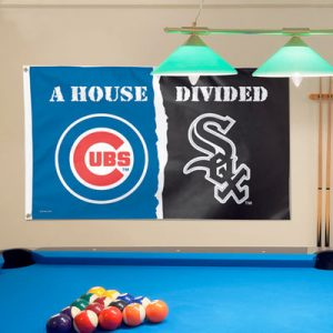 Chicago Cubs/Chicago White Sox WinCraft Deluxe 3′ x 5′ House Divided Flag