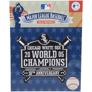 Chicago White Sox 4.5″ x 3.5″ 10th World Series Anniversary Patch