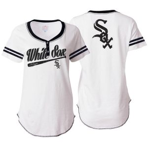 Chicago White Sox 5th & Ocean by New Era Women's Slub Jersey T-Shirt