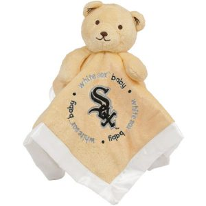 Chicago White Sox Newborn & Infant Snuggle Bear Security Blanket