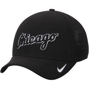 Chicago White Sox Nike Vapor Classic Swoosh Performance Flex Ha