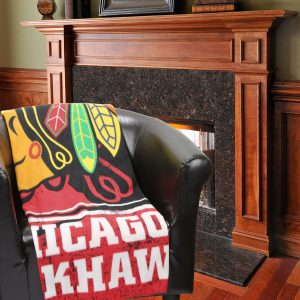 Chicago Blackhawks 50″ x 60″ Plush Fleece Throw